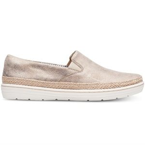 New Clark's collection Marie Pearl Flats pewter